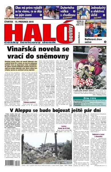 Haló noviny - 15_12_2016 - Elektronické noviny