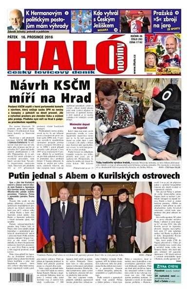 Haló noviny - 16_12_2016 - Elektronické noviny