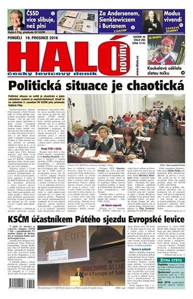 Haló noviny - 19_12_2016 - Elektronické noviny