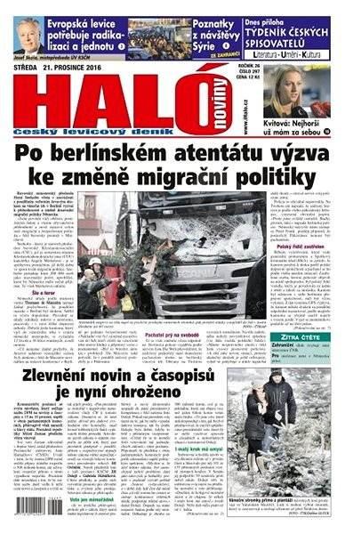 Haló noviny - 21_12_2016 - Elektronické noviny