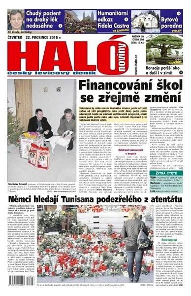 Haló noviny - 22_12_2016 - Elektronické noviny