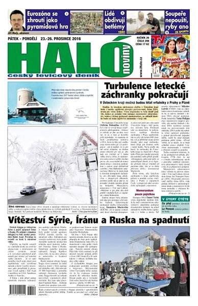 Haló noviny - 23_12_2016 - Elektronické noviny