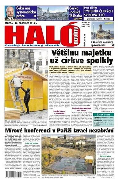 Haló noviny - 28_12_2016 - Elektronické noviny