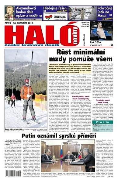 Haló noviny - 30_12_2016 - Elektronické noviny
