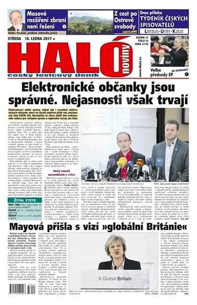 Haló noviny - 18_01_2017 - Elektronické noviny