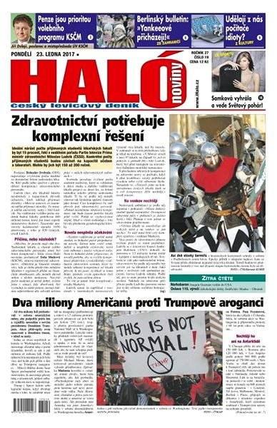 Haló noviny - 23_01_2017 - Elektronické noviny