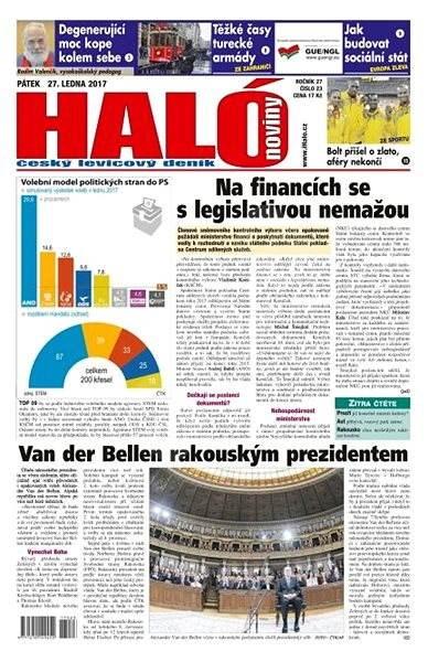 Haló noviny - 27_01_2017 - Elektronické noviny