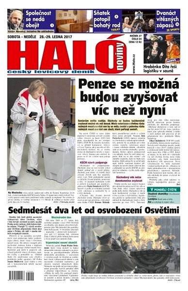 Haló noviny - 28_01_2017 - Elektronické noviny