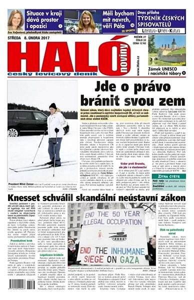 Haló noviny - 08_02_2017 - Elektronické noviny