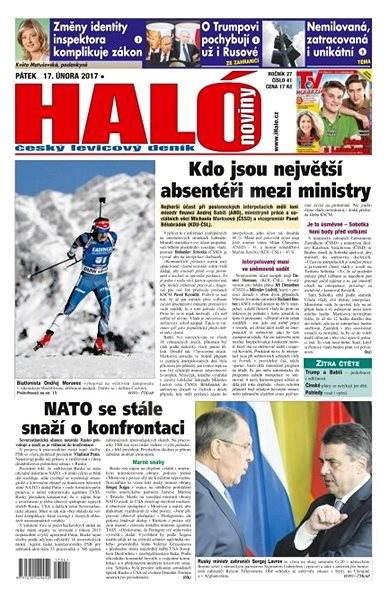 Haló noviny - 17_02_2017 - Elektronické noviny