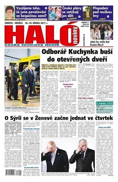 Haló noviny - 18_02_2017 - Elektronické noviny