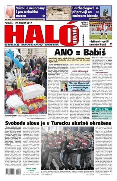 Haló noviny - 27_02_2017 - Elektronické noviny
