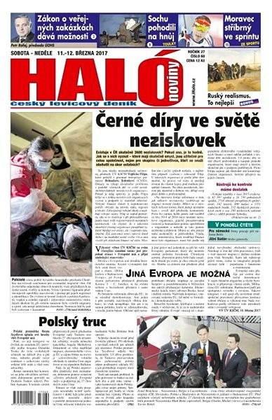 Haló noviny - 11_03_2017 - Elektronické noviny