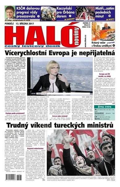 Haló noviny - 13_03_2017 - Elektronické noviny