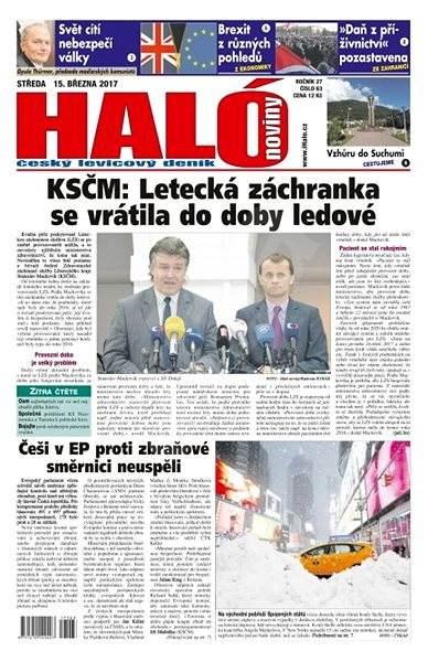 Haló noviny - 15_03_2017 - Elektronické noviny