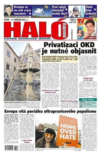 Haló noviny - 17_03_2017 - Elektronické noviny