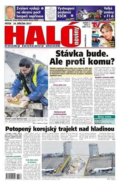 Haló noviny - 24_03_2017 - Elektronické noviny
