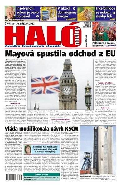 Haló noviny - 30_03_2017 - Elektronické noviny