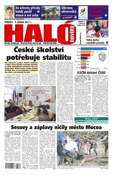 Haló noviny - 03_04_2017 - Elektronické noviny