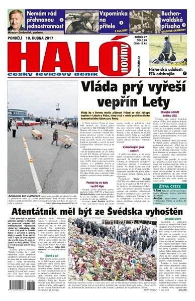 Haló noviny - 10_04_2017 - Elektronické noviny