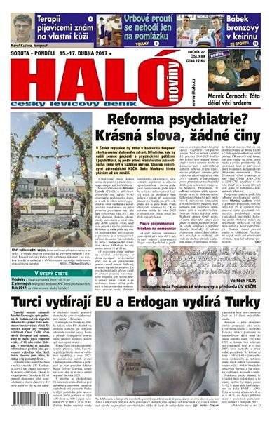 Haló noviny - 15_04_2017 - Elektronické noviny