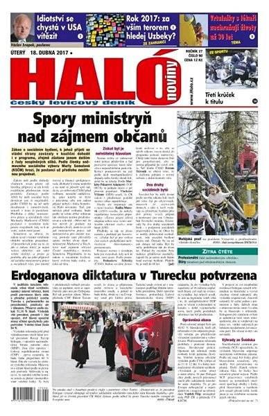 Haló noviny - 18_04_2017 - Elektronické noviny
