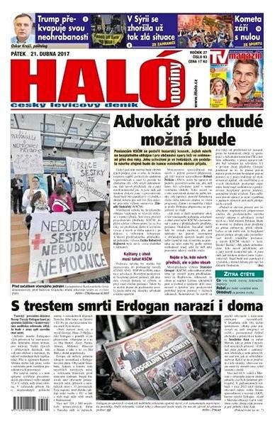 Haló noviny - 21_04_2017 - Elektronické noviny