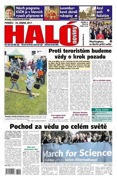 Haló noviny - 24_04_2017 - Elektronické noviny