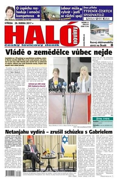 Haló noviny - 26_04_2017 - Elektronické noviny