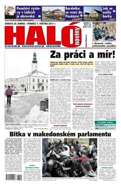 Haló noviny - 29_04_2017 - Elektronické noviny