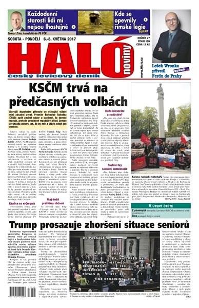 Haló noviny - 06_05_2017 - Elektronické noviny