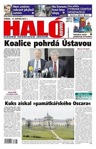 Haló noviny - 17_05_2017 - Elektronické noviny