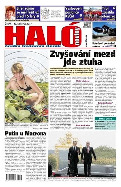 Haló noviny - 30_05_2017 - Elektronické noviny