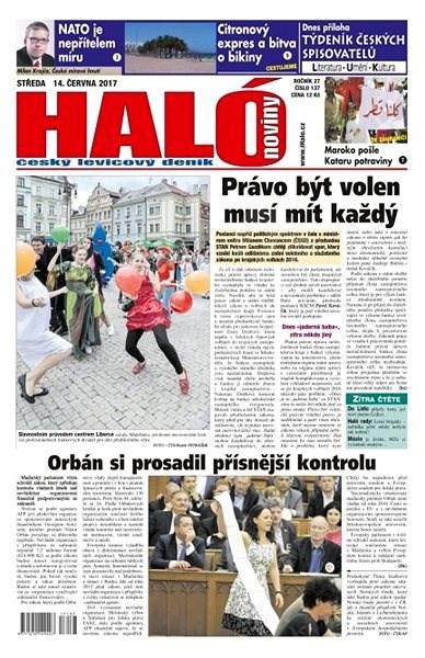 Haló noviny - 14_06_2017 - Elektronické noviny