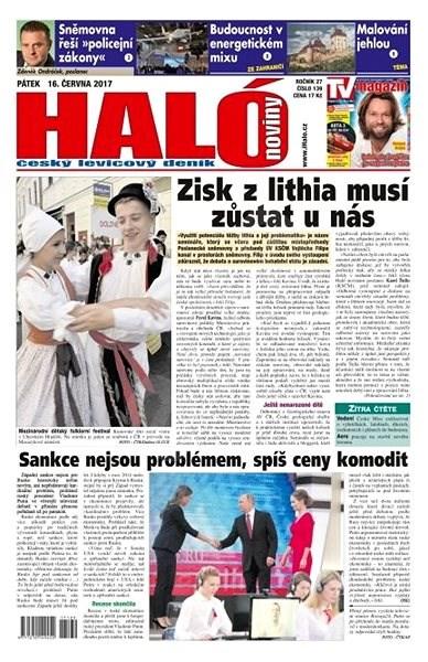 Haló noviny - 16_06_2017 - Elektronické noviny