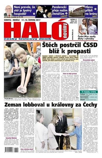 Haló noviny - 17_06_2017 - Elektronické noviny