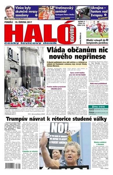 Haló noviny - 19_06_2017 - Elektronické noviny