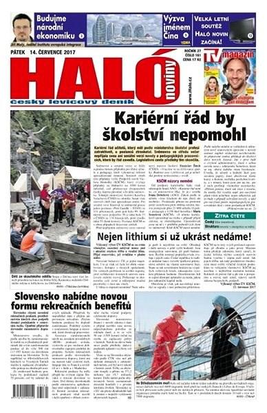 Haló noviny - 14_07_2017 - Elektronické noviny