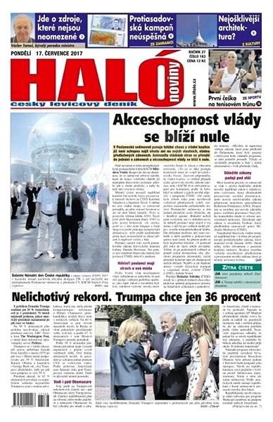 Haló noviny - 17_07_2017 - Elektronické noviny