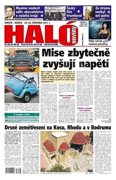 Haló noviny - 22_07_2017 - Elektronické noviny