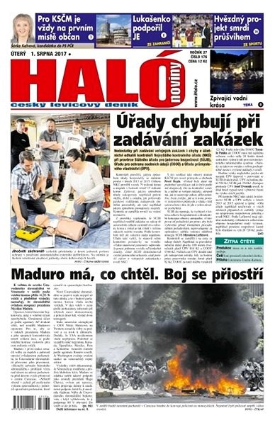 Haló noviny - 01_08_2017 - Elektronické noviny