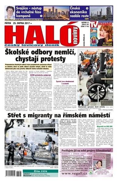 Haló noviny - 25_08_2017 - Elektronické noviny