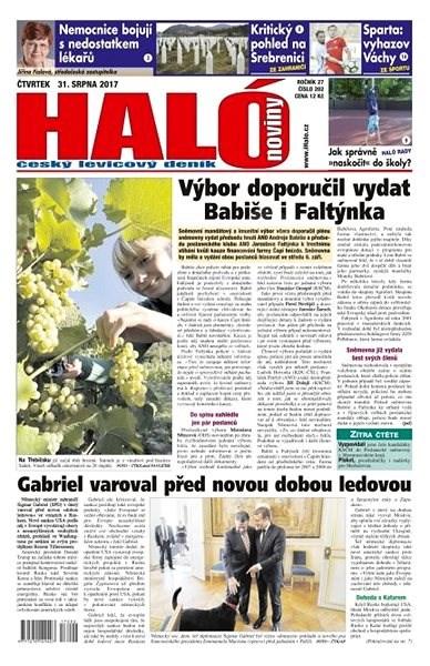 Haló noviny - 31_08_2017 - Elektronické noviny