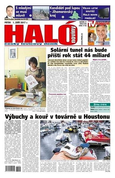 Haló noviny - 01_09_2017 - Elektronické noviny