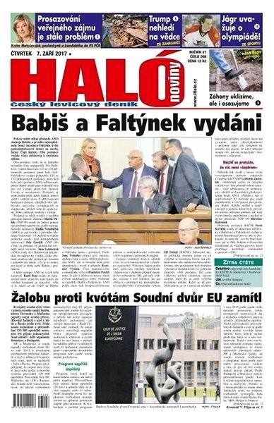 Haló noviny - 07_09_2017 - Elektronické noviny