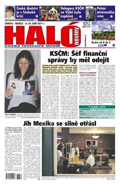 Haló noviny - 09_09_2017 - Elektronické noviny