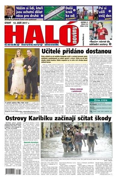 Haló noviny - 12_09_2017 - Elektronické noviny