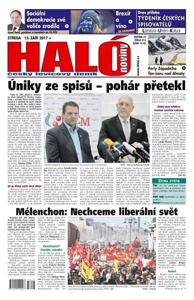 Haló noviny - 13_09_2017 - Elektronické noviny