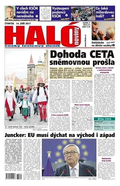 Haló noviny - 14_09_2017 - Elektronické noviny