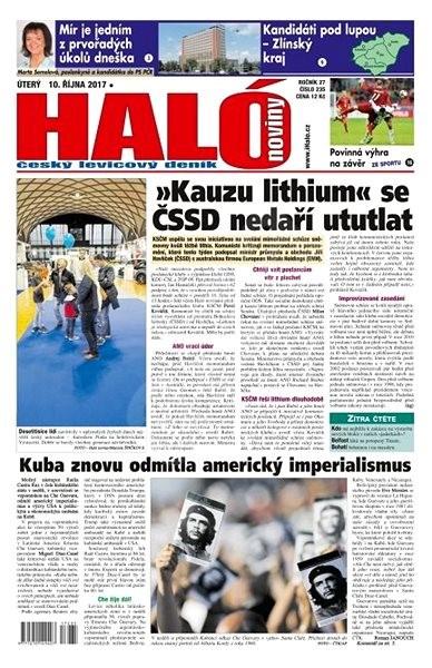 Haló noviny - 10_10_2017 - Elektronické noviny